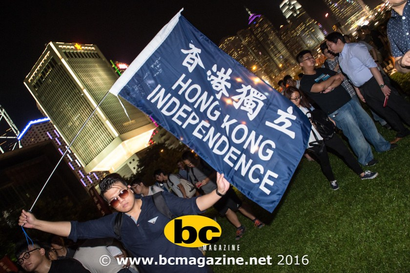 Protest rally as Hong Kong's democracy is in crisis