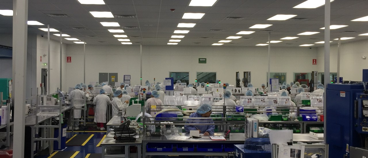 Controlled Manufacturing Environment