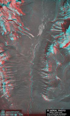 3D Aerial Photo of Impact Area