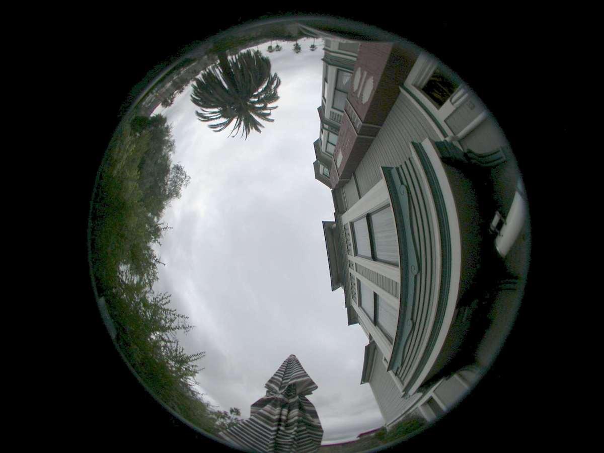 Calibration of an All Sky Lens