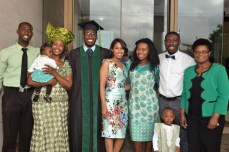 Celebrating as a family!