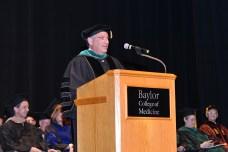 Dr. Klotman addresses graduates