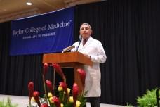 Dr. Paul Klotman addressing students