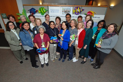 Getaway to Good Health participants from the CNRC