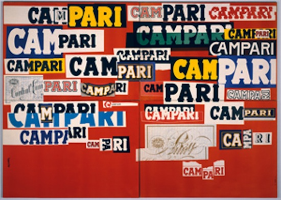 Manifesto Campari - Bruno Munar