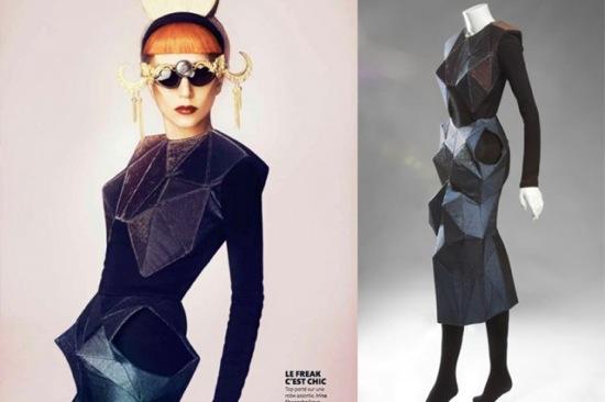 Lady Gaga vestido Irina Shaposhnikova subasta