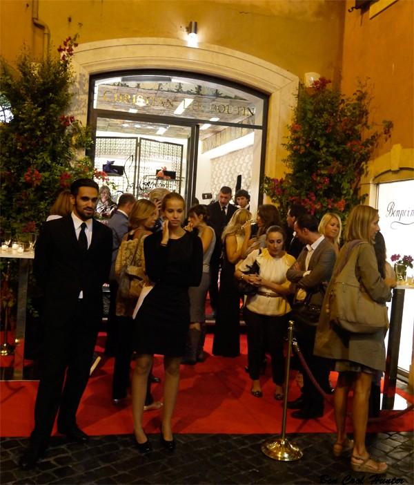louboutin-inaugurazione-negozio-roma