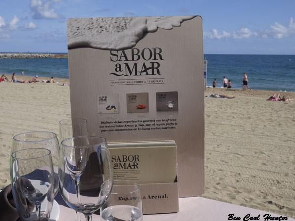 menu sabor mar restaurante