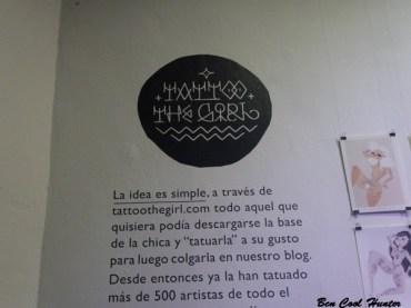 tatoo the girl centro arte mutuo barcelona