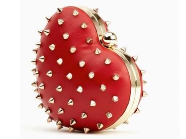 Heartbreaker Clutch - Red