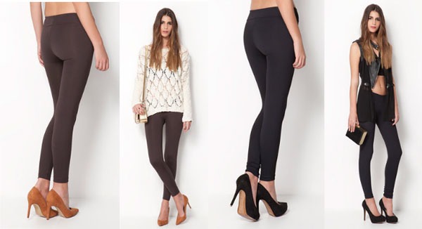 bershka leggins push up