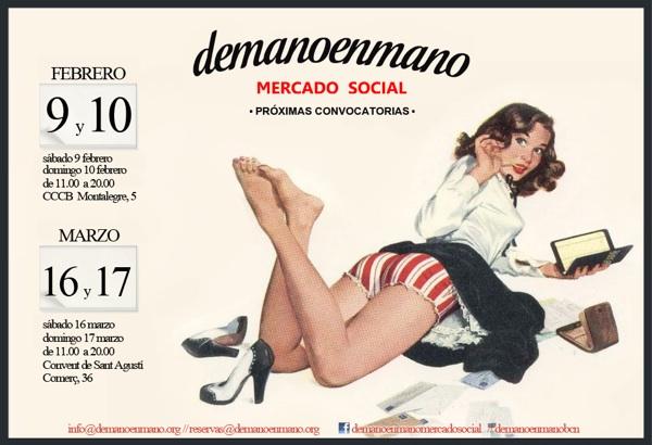 demanoenmano mercado social barcelona