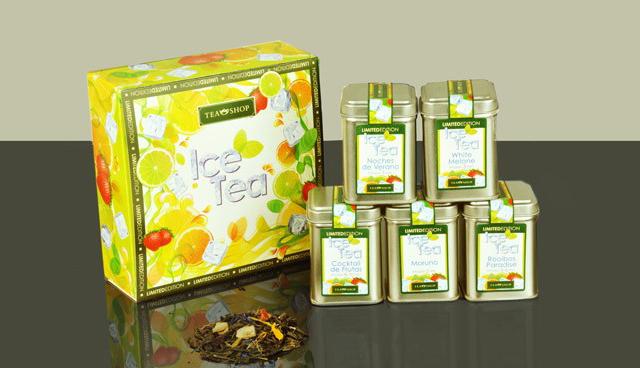caja limited edition ice tea