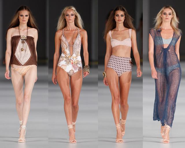 Guillermina Baeza moda playa