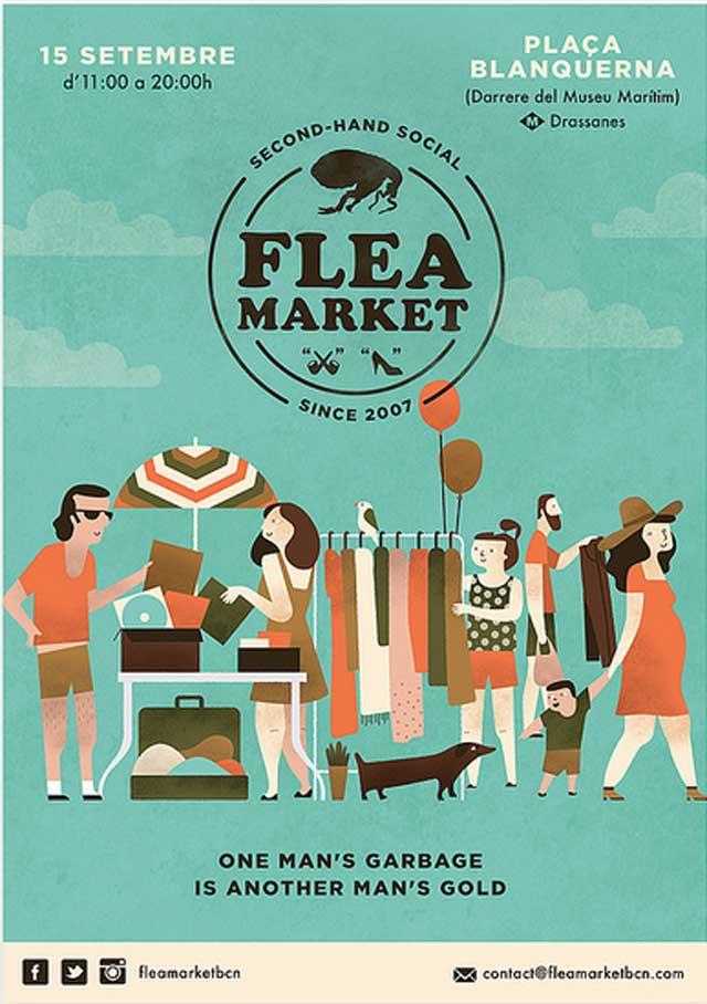 flea-market barcelona