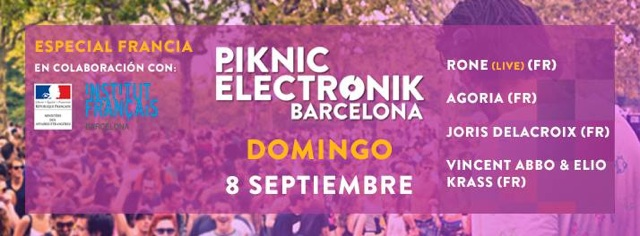 piknik electronic barcelona septiembre