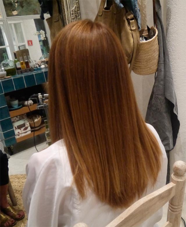 cabello aceite