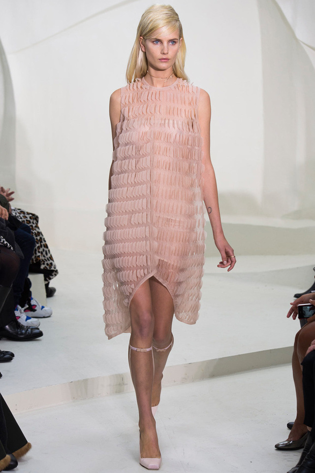 Christian Dior Haute Couture s/s 2014 nude