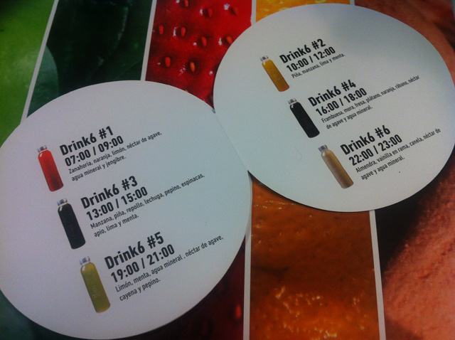 detox dieta zumos naturales