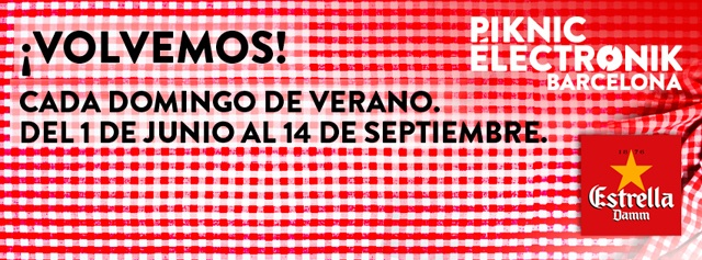 Piknic Electronik barcelona 2014