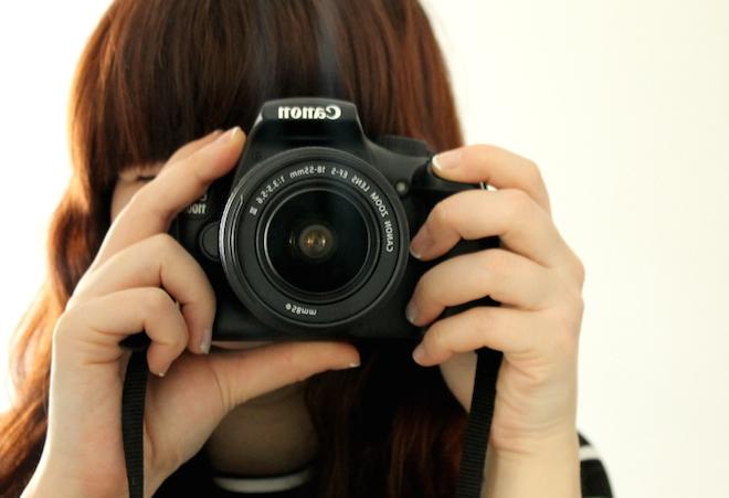 fotografia blogger canon