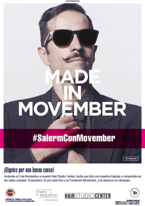 Movember-SALERM cosmetics