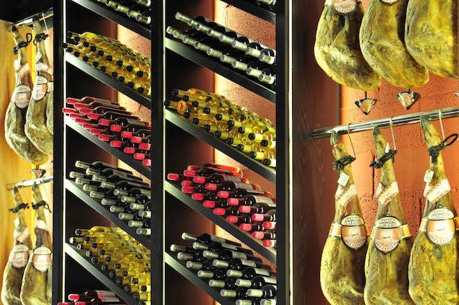 vinos ibericos jamon