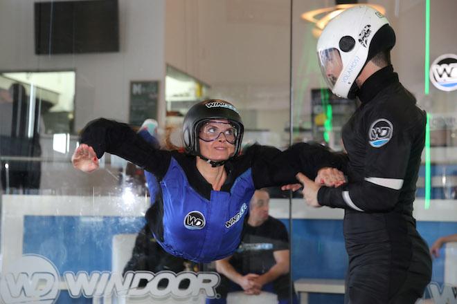 dafne rowenta Skydiving