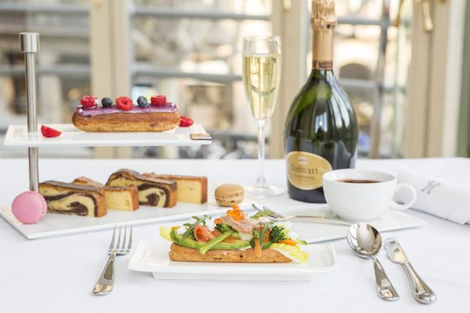 Majestic Champagne Fashion Tea Bulgari eclair 2