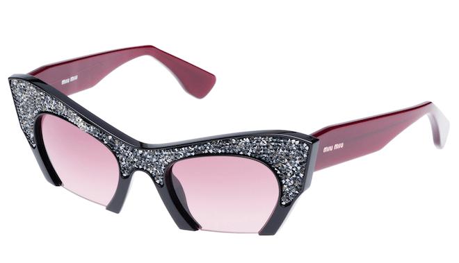 miu miu raison sunglasses pink