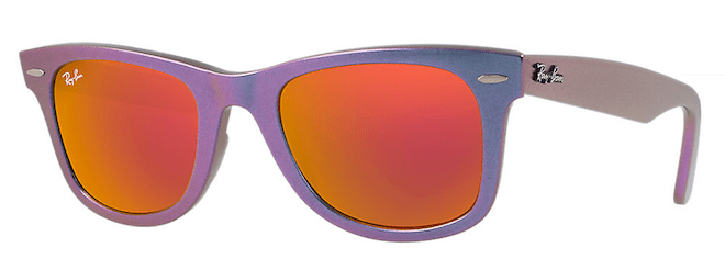 rayban cristales colores