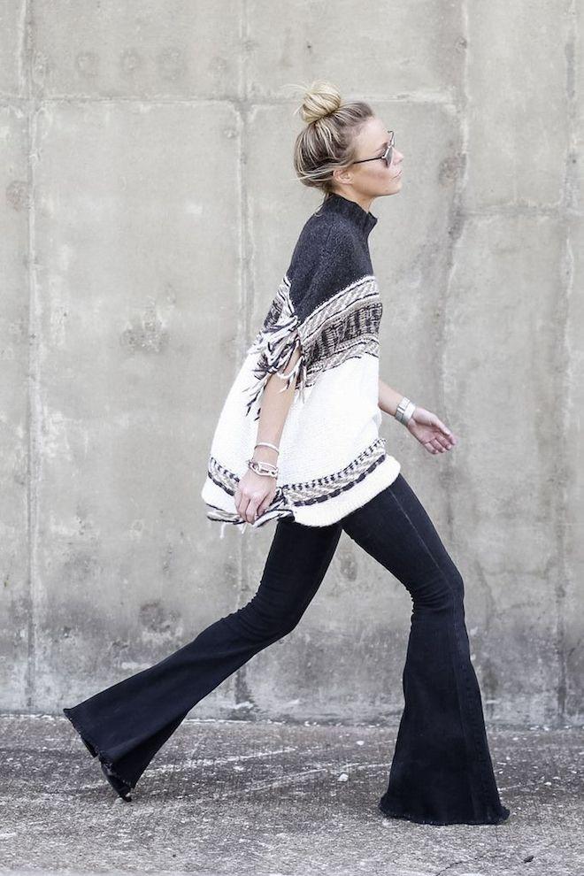 pANTALÓN CAMPANA moda invierno 2015