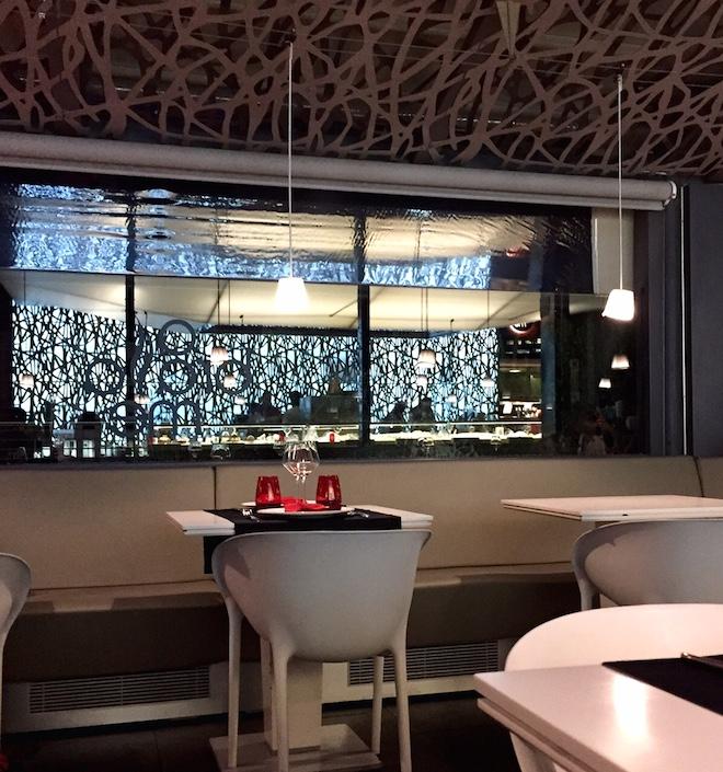 restaurante abrassame mesa terraza