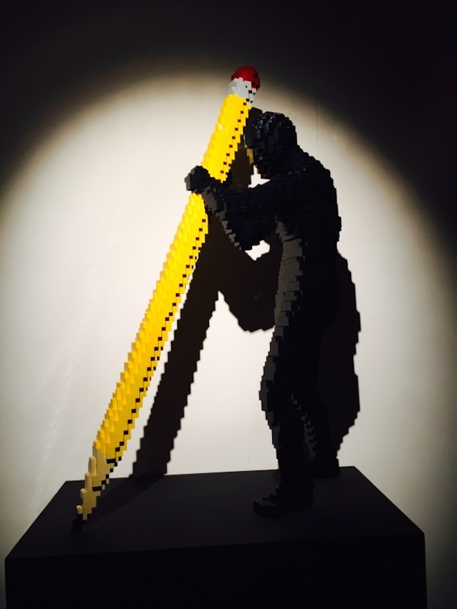 The Art of the brick 16