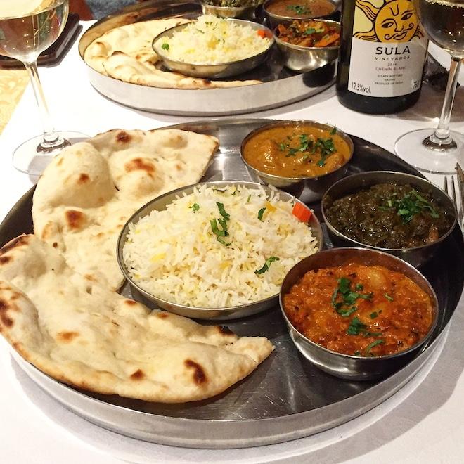 namaste restaurante indio