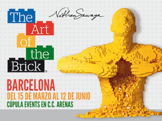 art of bricks barcelona