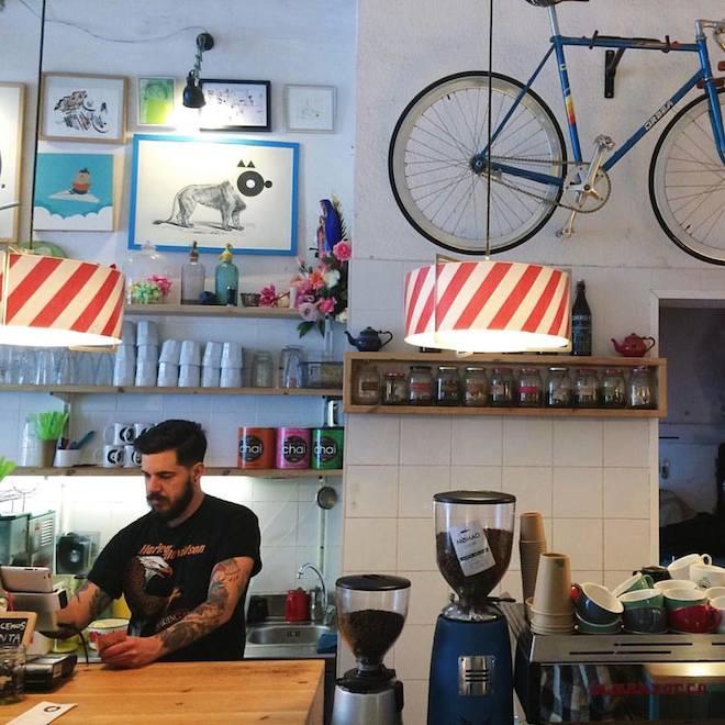 cosmo galeria cafe