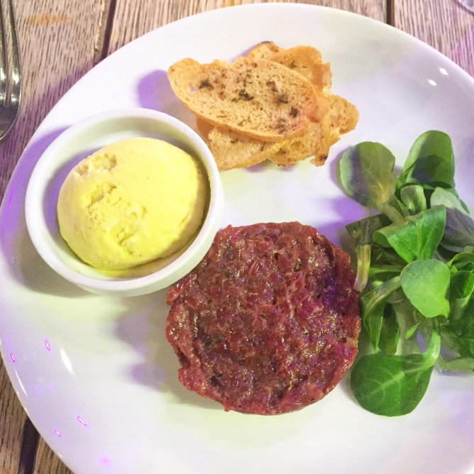 Steak tartar de solomillo
