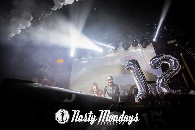 fiesta NastyMondays decimosegundo aniversario