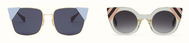 gafas color block fendi 2017