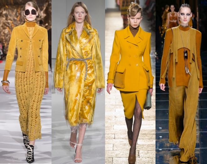 colores de moda otono invierno 17 18 lemon curry