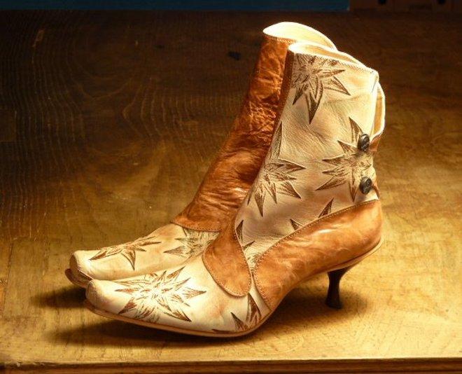 nu sabates botas cueros handmade