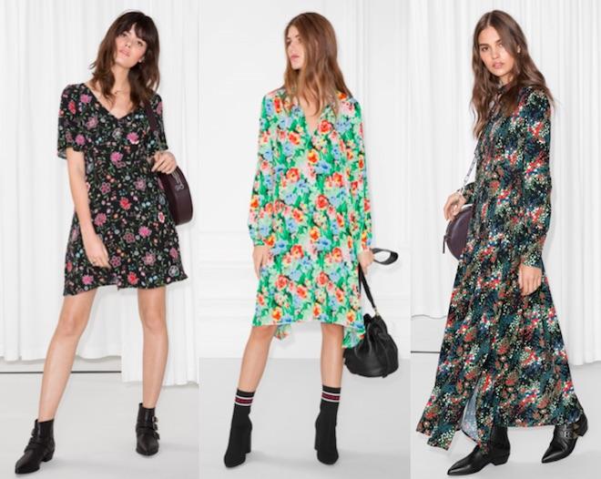 look primera cita vestido de flores