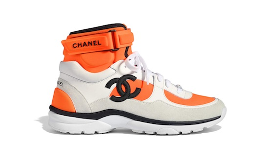 chanel sneakers moda