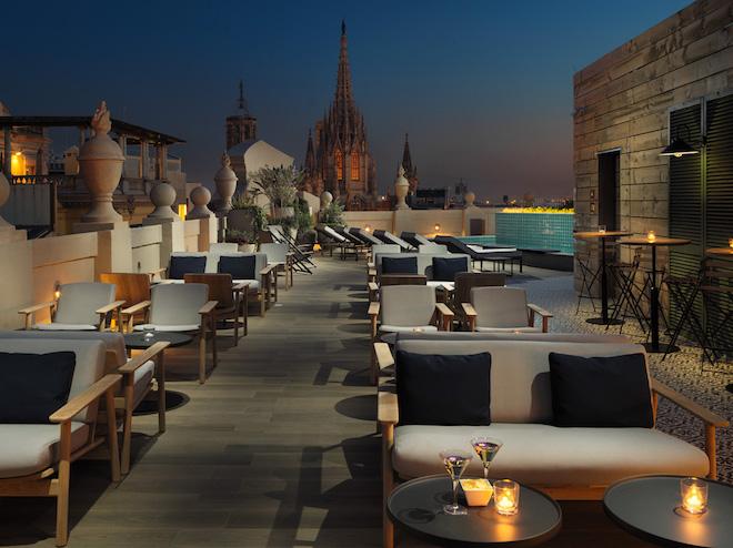 H10 terraza barcelona