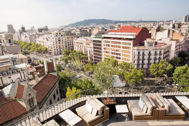 rooftop barcelona majestic