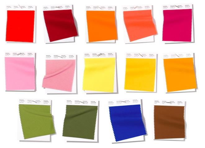 colores de moda primavera verano 2019 pantone