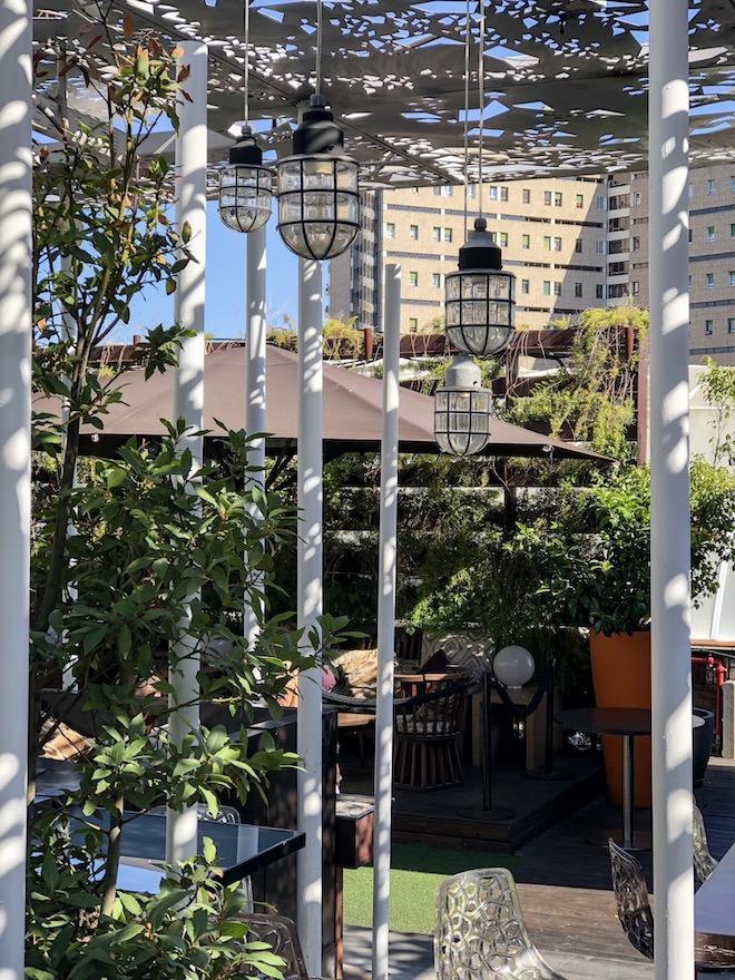 nuba barcelona restaurante terraza