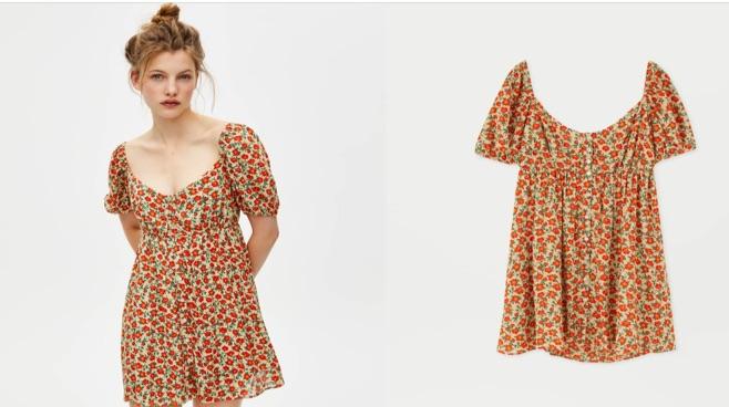 vestidos de verano pullandbear