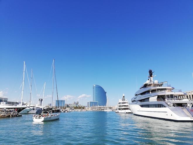 marina vela w barcelona